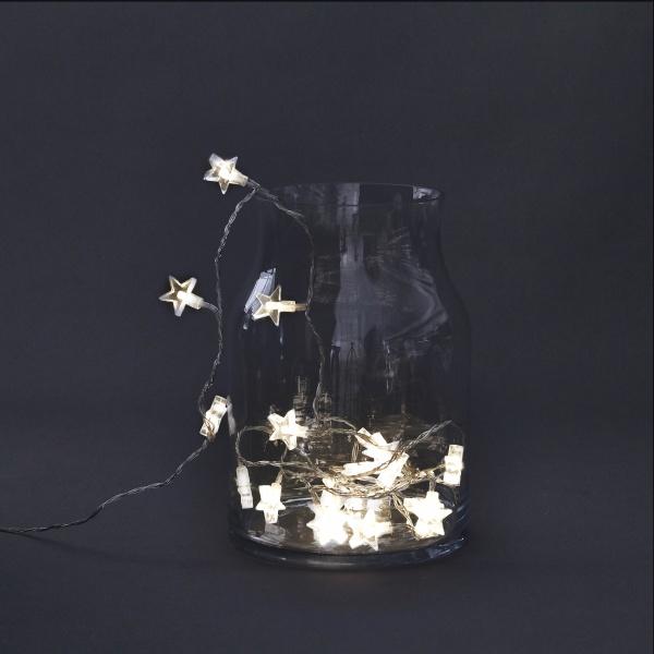 Utrolig Lyslenke med søte stjerner fra House Doctor. - Voma RV-29